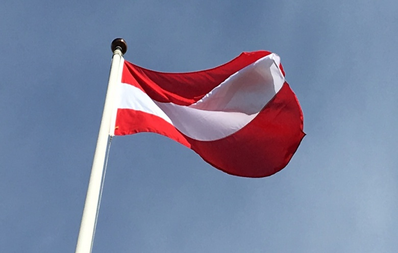austria flag flaggoronline