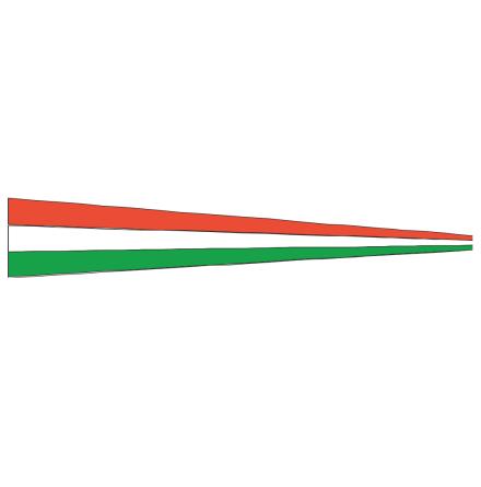 Hungary Pennant / Magyar árbocszalag